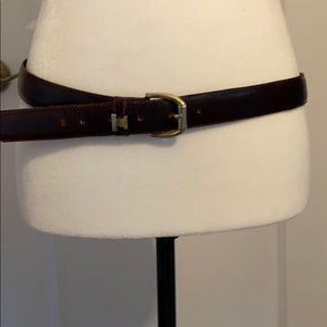 Vintage Adriano Vergari leather belt